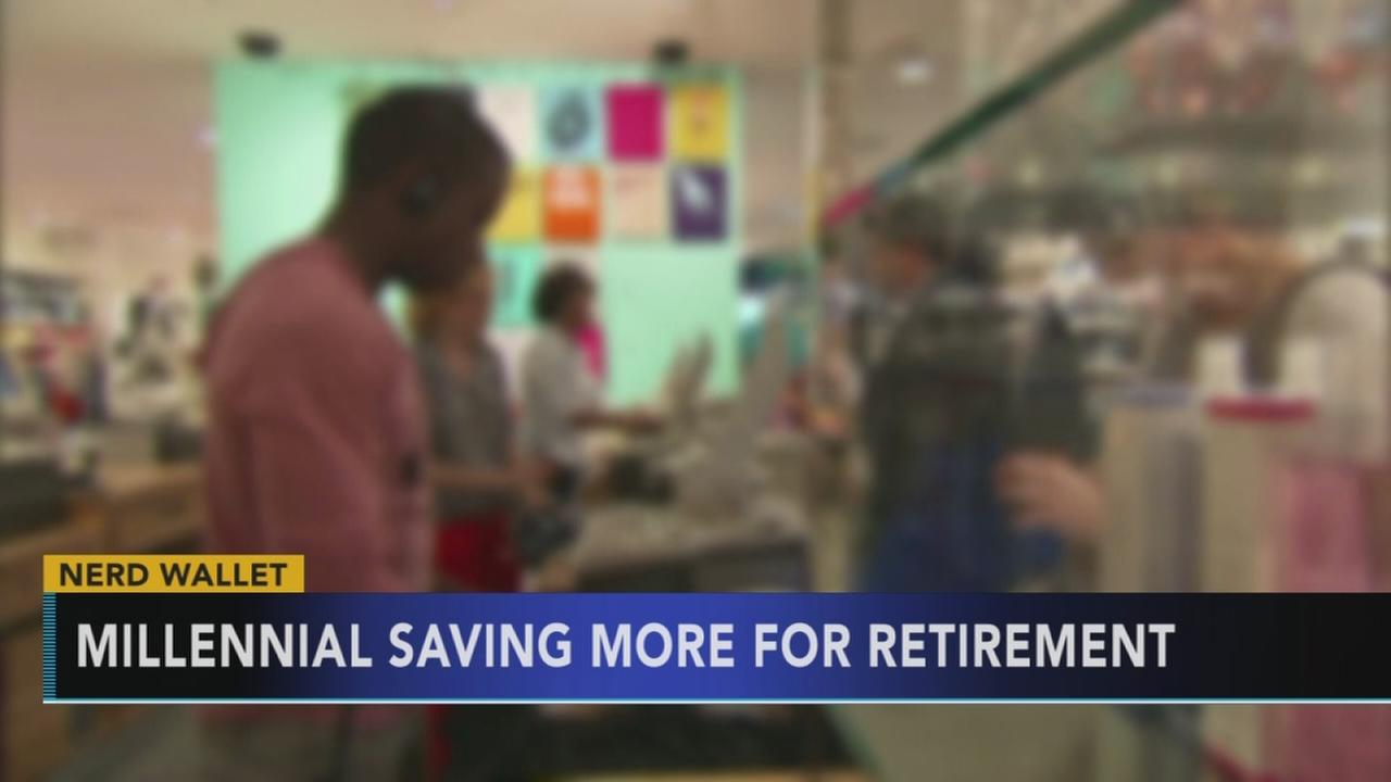 Study shows millennials are saving more for retirement