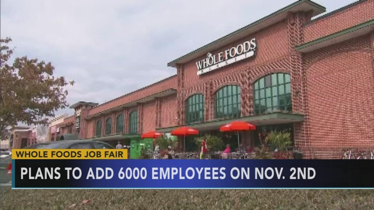 Whole Foods to host national hiring day event