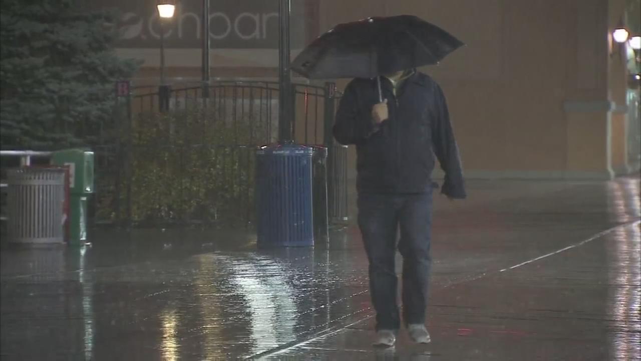 Rain drenches Jersey Shore on 5-year anniversary of Hurricane Sandy