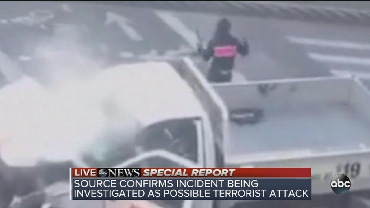 ABC News coverage of NYC terror attack