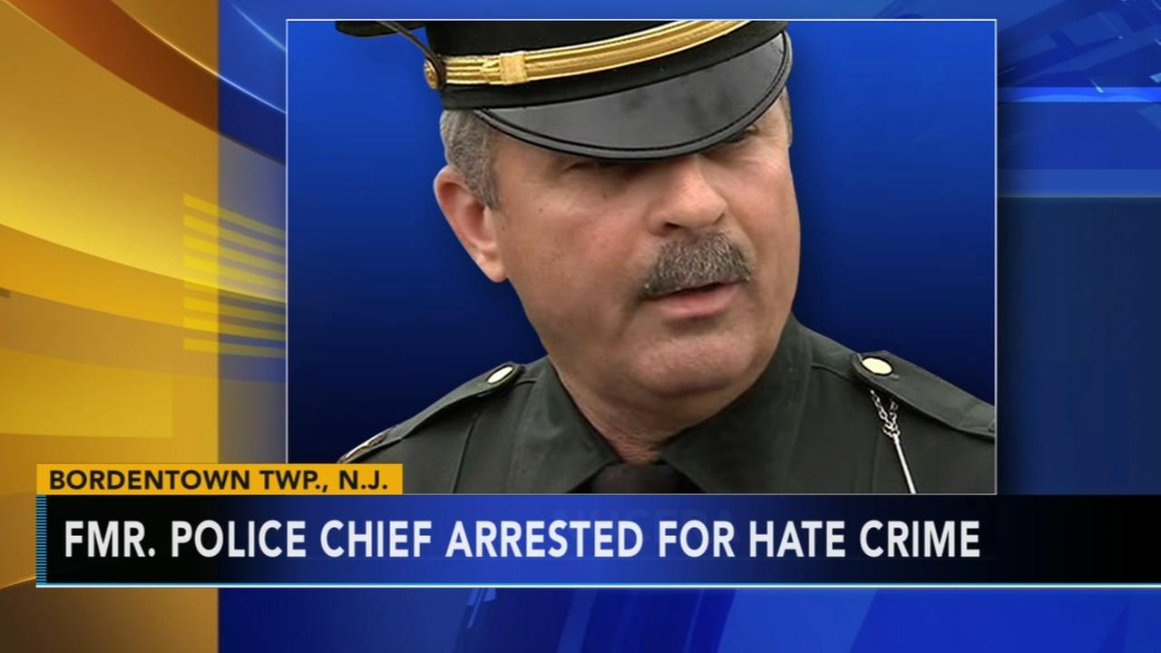 Ex-police chief accused of hate crime, excessive force