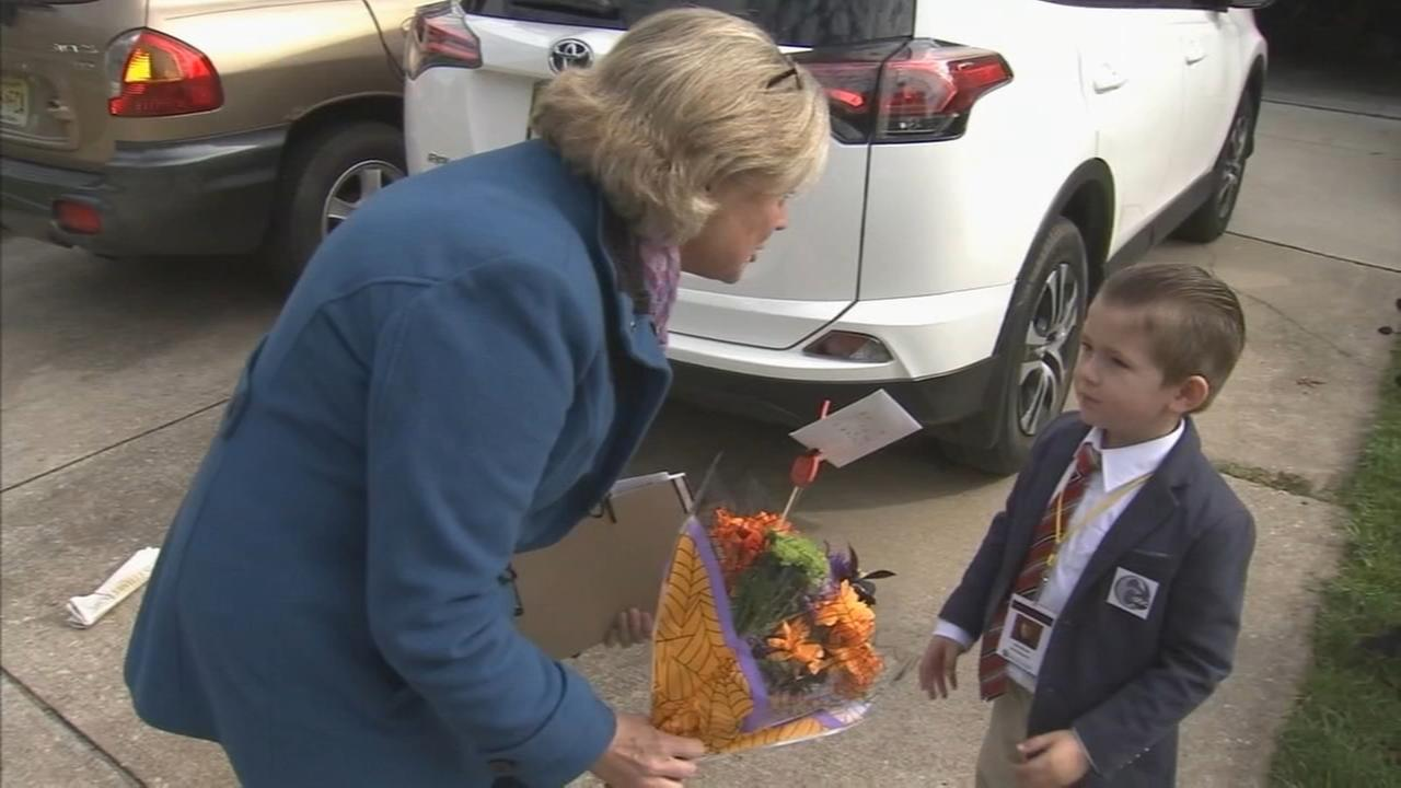 Action News reporter Nora Muchanics final bow with kid reporter