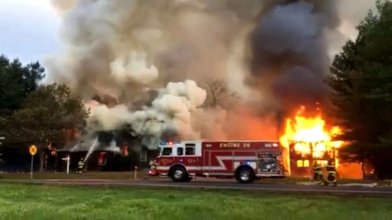 Fire that destroyed home, barn in Del. ruled arson
