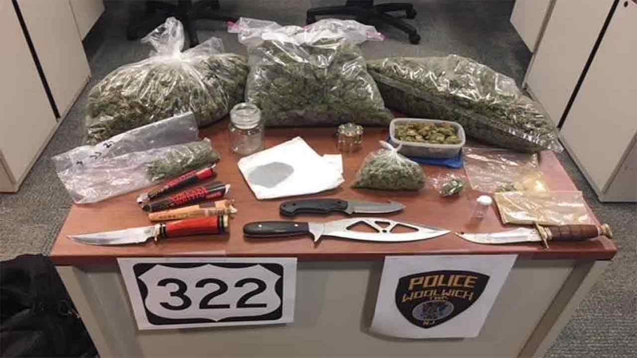 Traffic stop leads to drug arrest near NJ Turnpike in Woolwich Township
