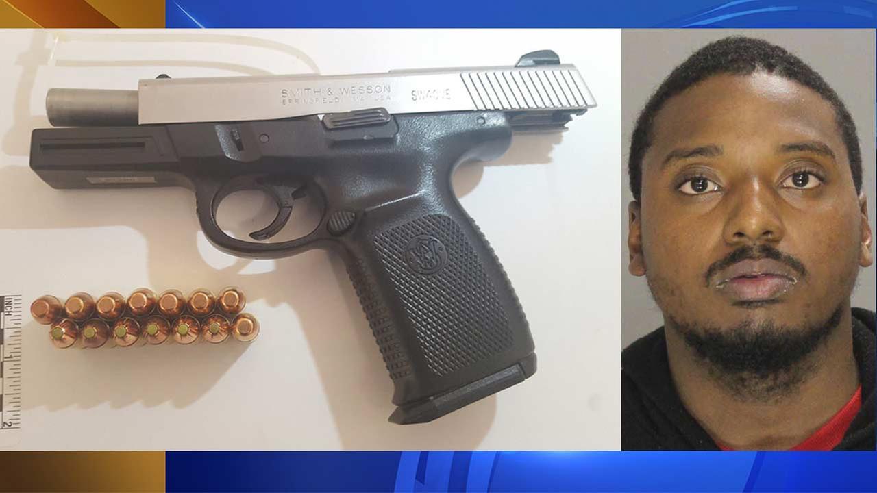 Police: Delaware County man hid loaded gun in baby's bassinet