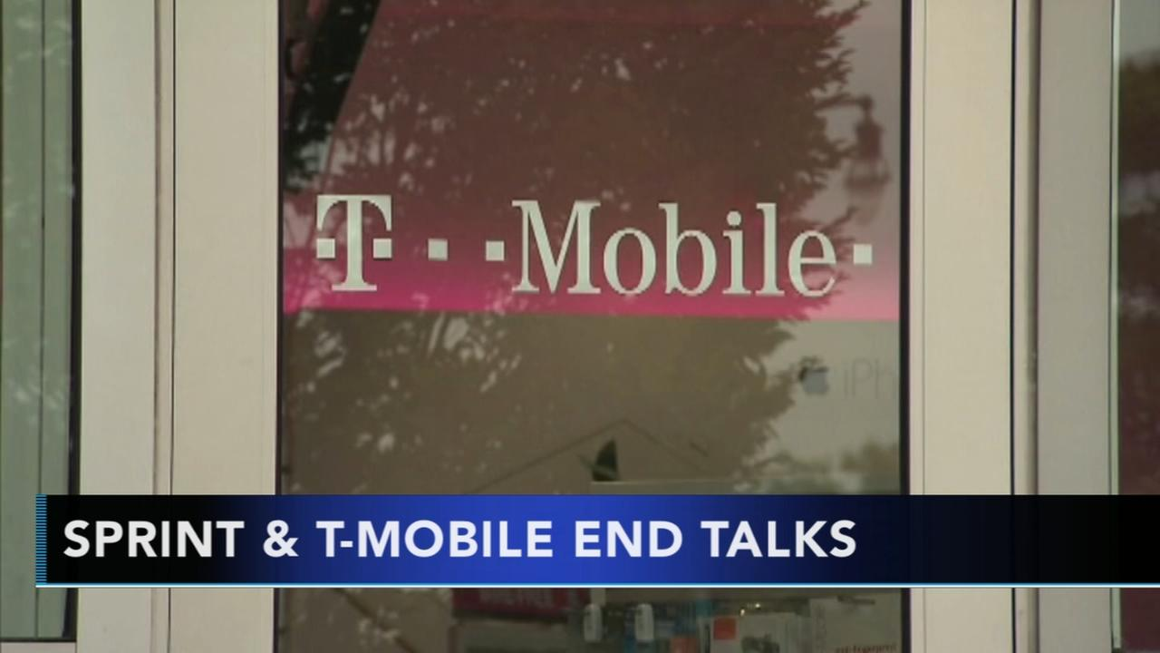 Sprint, T-Mobile end merger talks