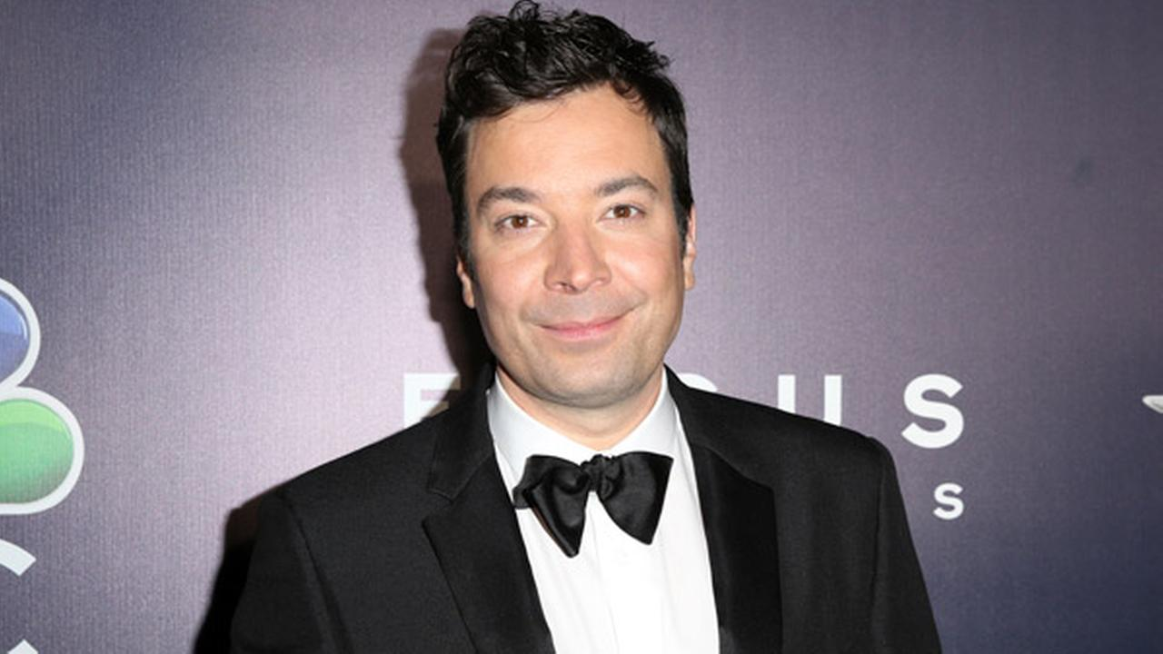 Jimmy Fallon arrives at the NBCUniversal Golden Globes afterparty at the Beverly Hilton Hotel on Sunday, Jan. 8, 2017, in Beverly Hills, Calif.