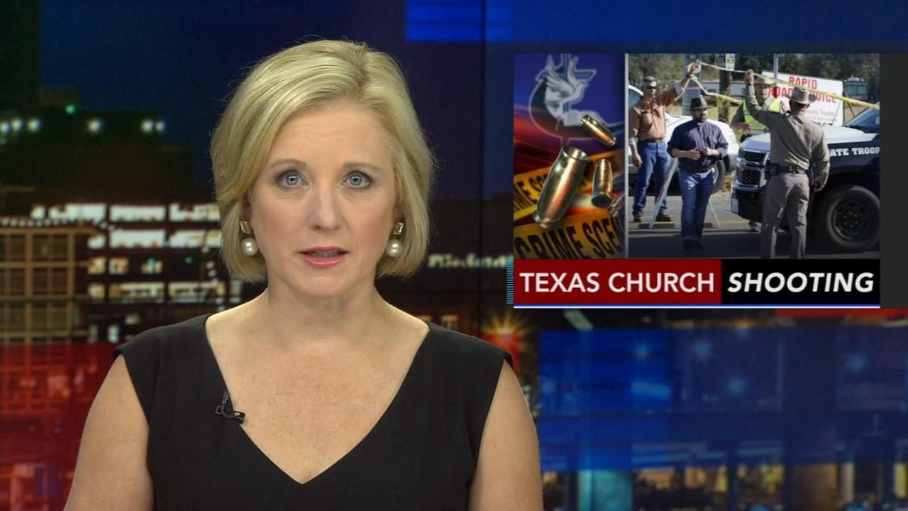 President Trump reacts to Texas church shooting