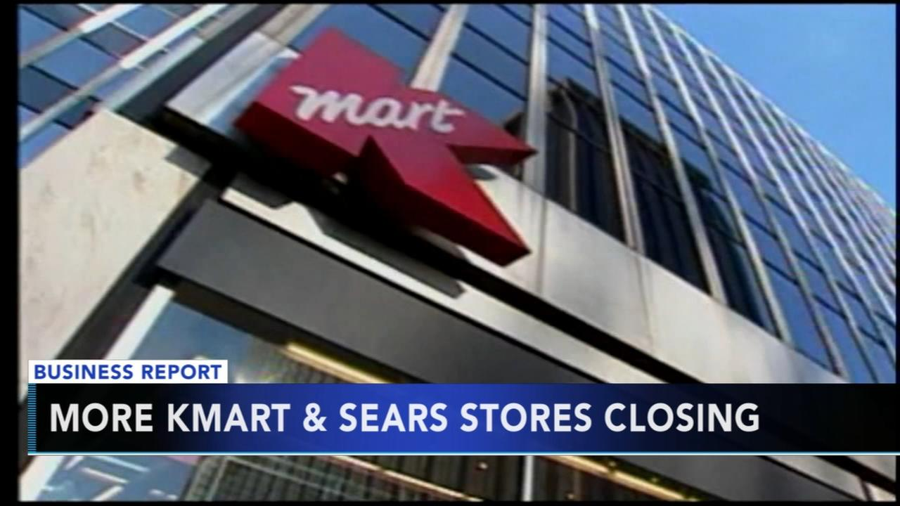 More KMart and Sears stores closing