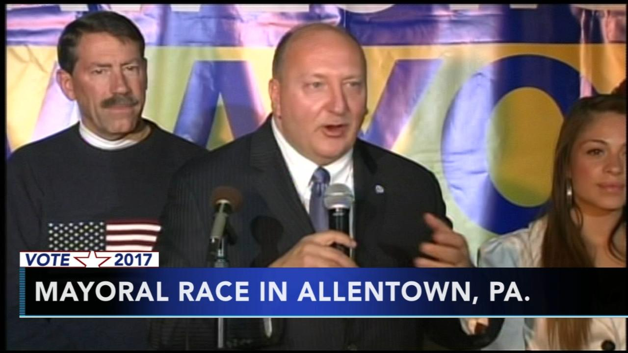 Mayoral races in Allentown, Atlantic City