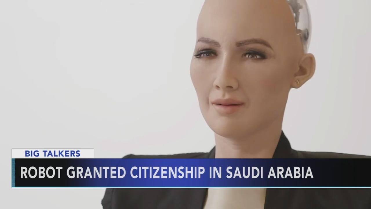 Robot granted citizenship in Saudi Arabia