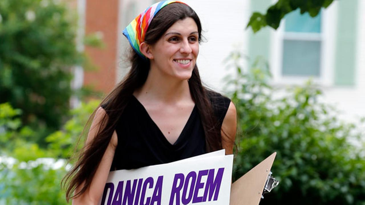 FILE - In this June 21, 2017, file photo, Democratic nominee for the House of Delegates 13th district seat Danica Roem.
