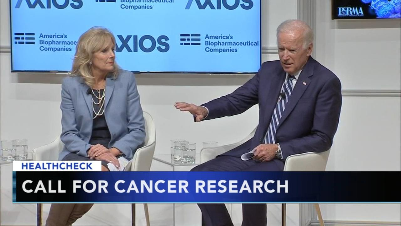 Joe and Jill Biden lead discussion on new ideas in cancer research