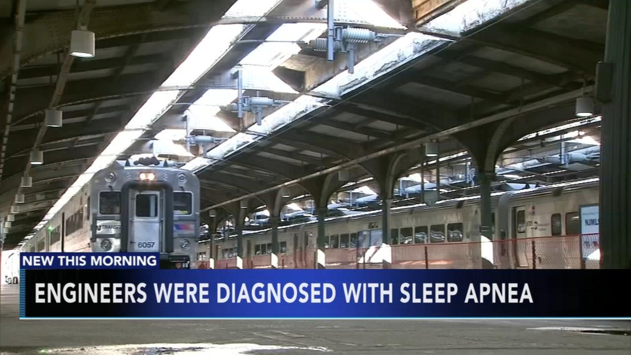 Train engineers diagnosed with sleep apnea
