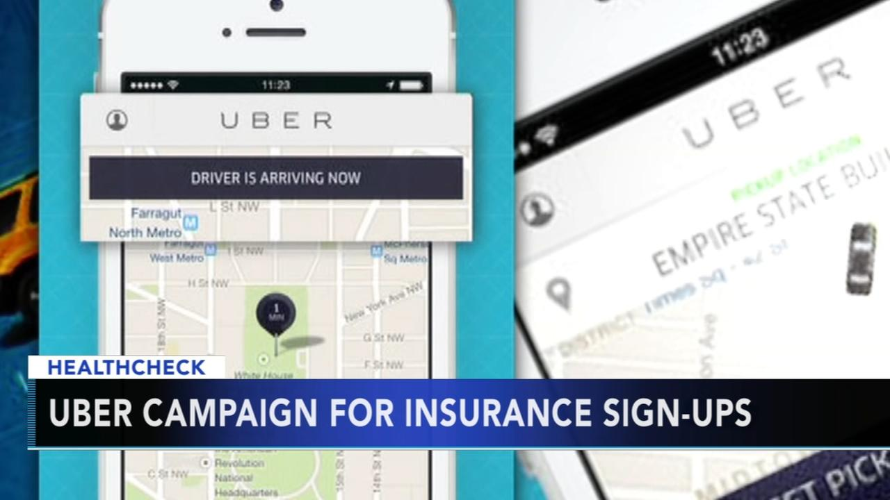 Uber helping riders sign up for health care this weekend