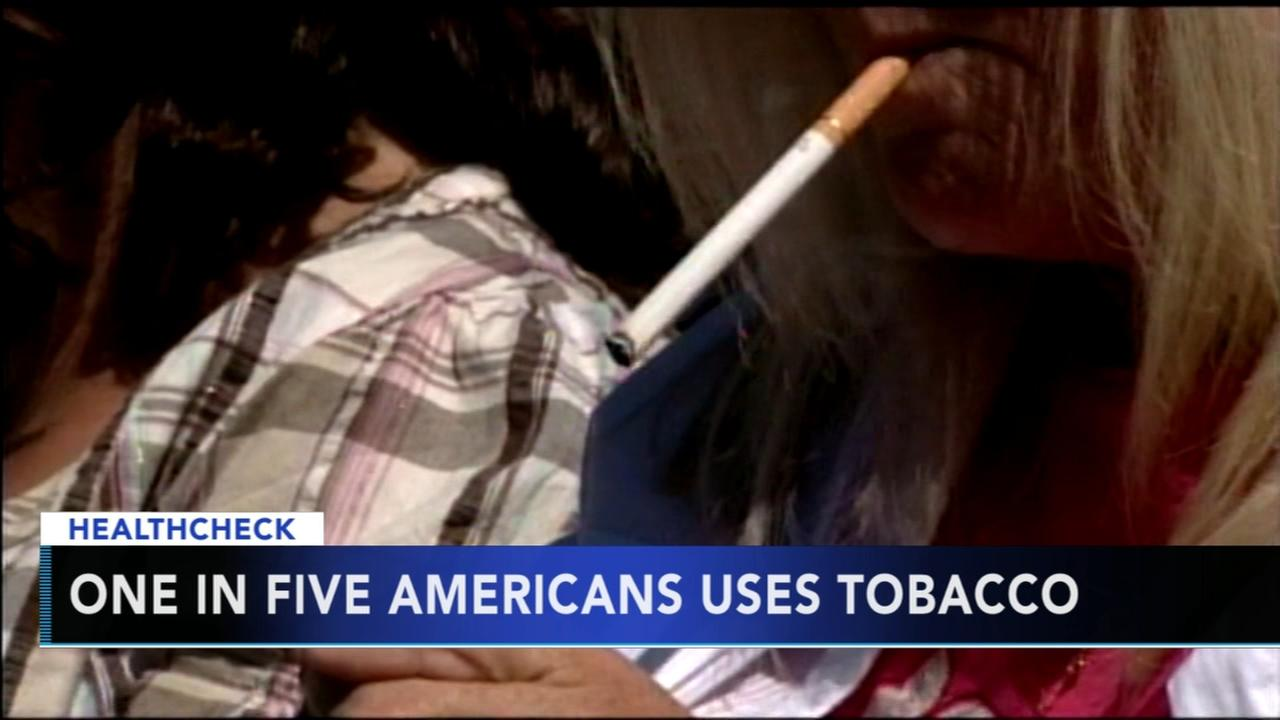 Report: One in five Americans still using tobacco products