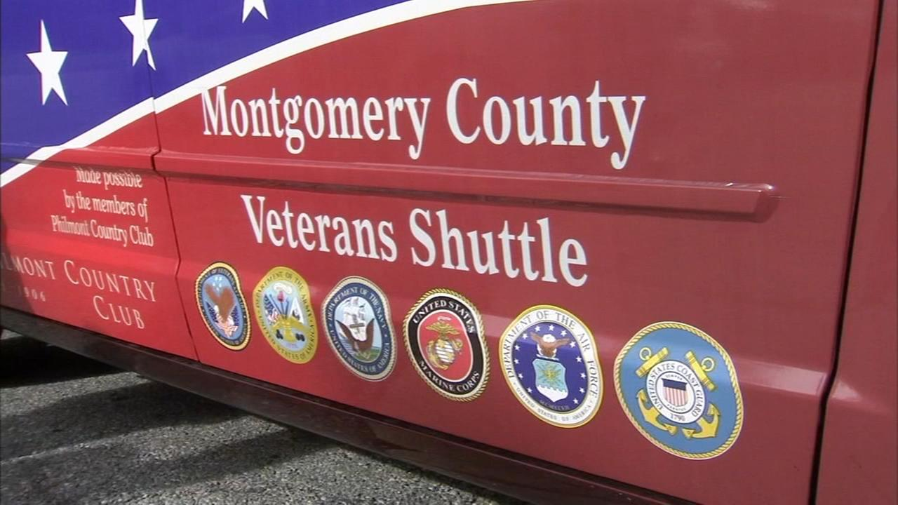 Shuttle service for military veterans in Montco expands