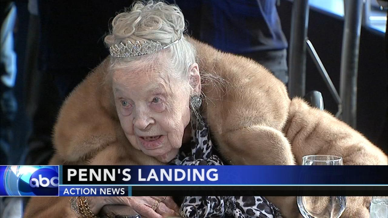 Woman celebrates 109th birthday with boat ride