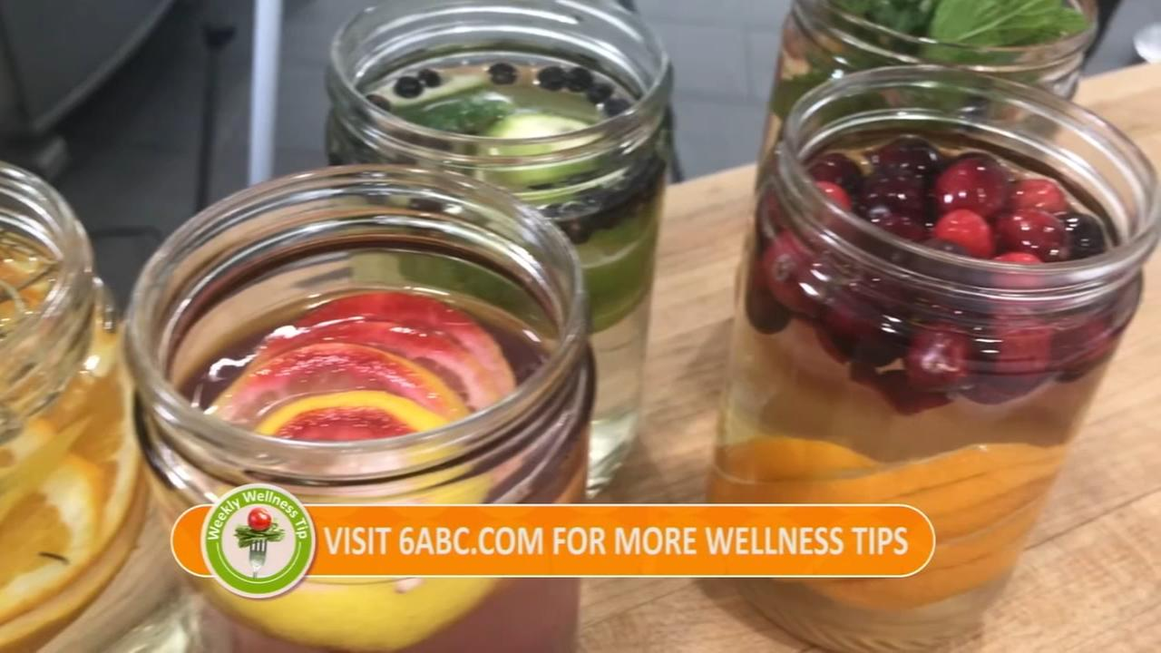FYI Wellness Tip: Water Infused drinks