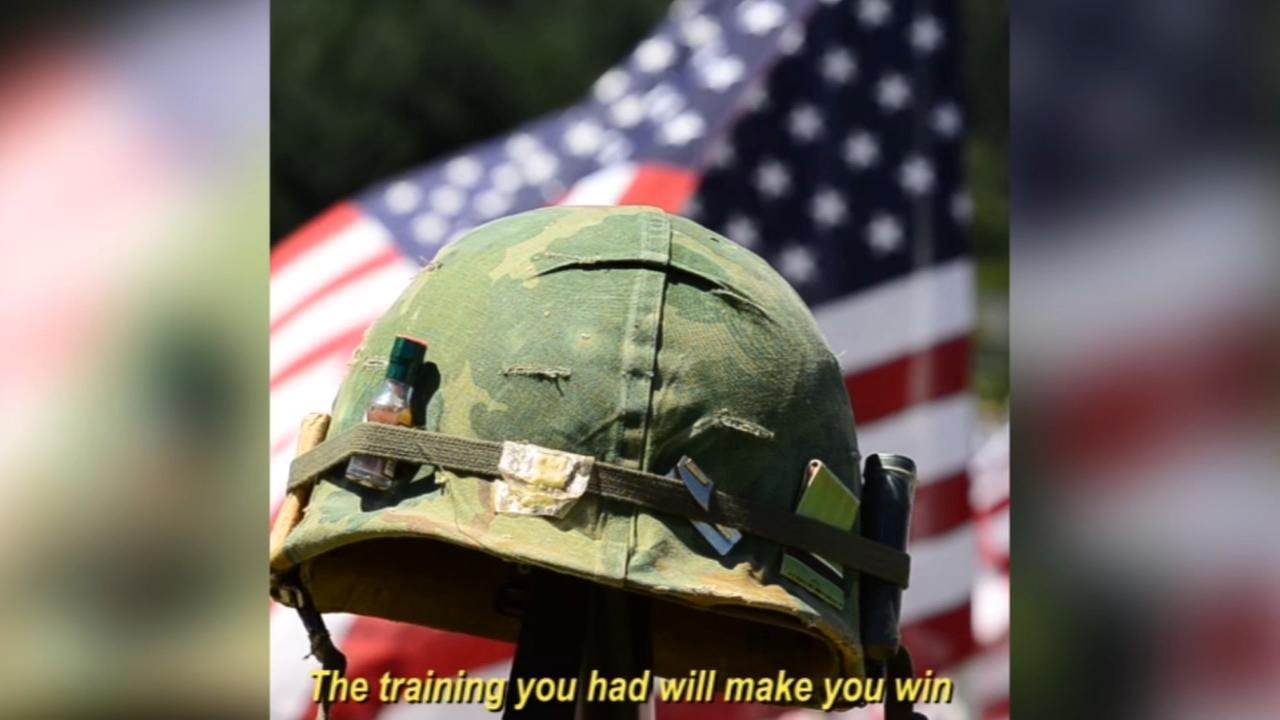 Veterans tribute in poetry to fellow vets
