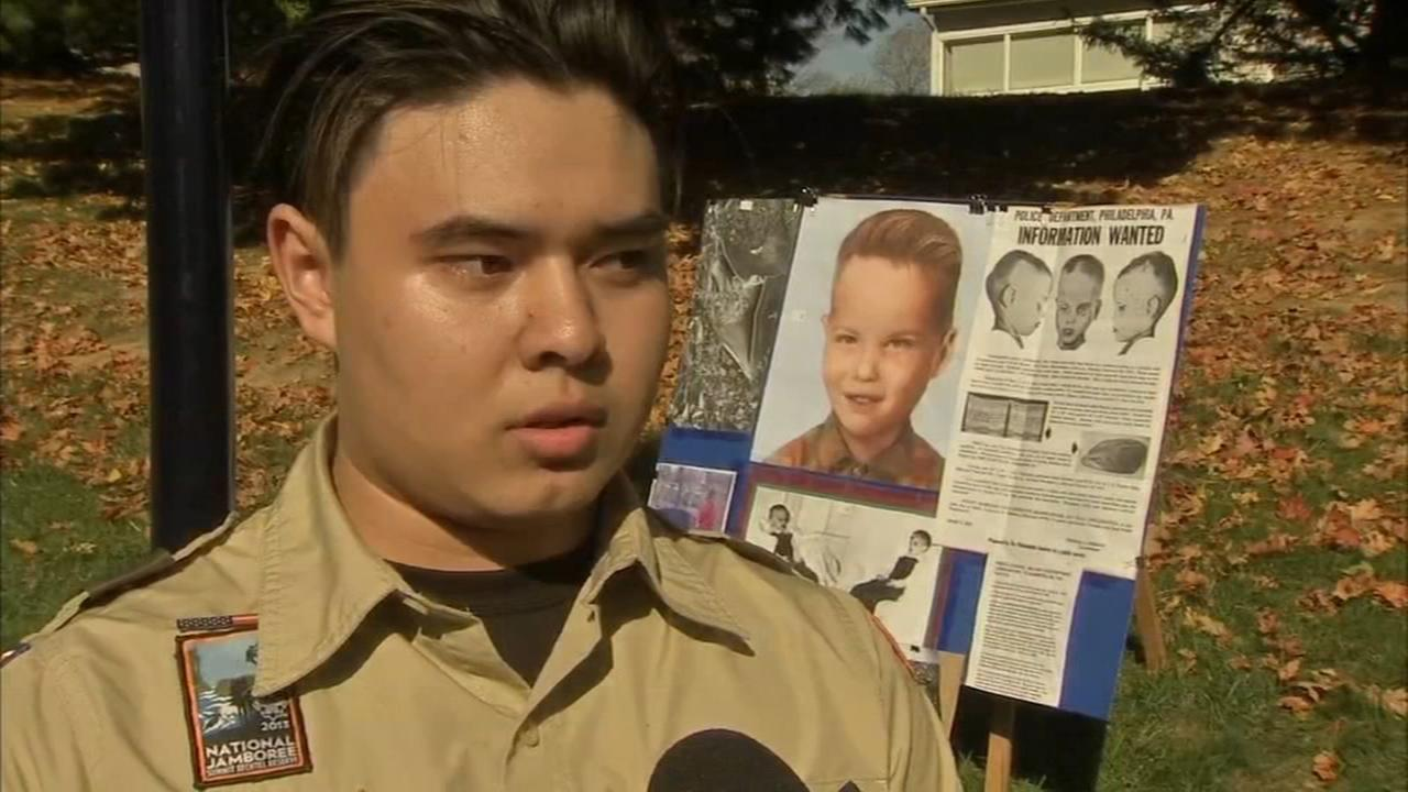 Historic marker placed for boy found in box 6 decades ago