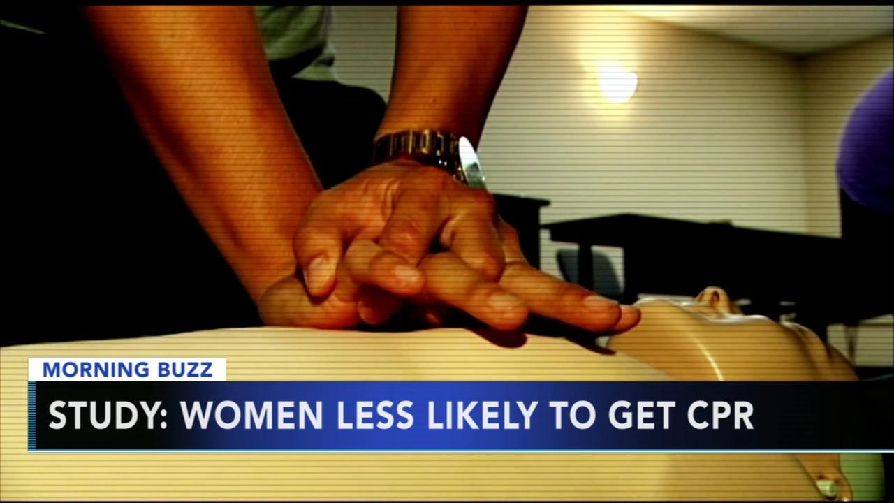 Study: Women less likely to get CPR