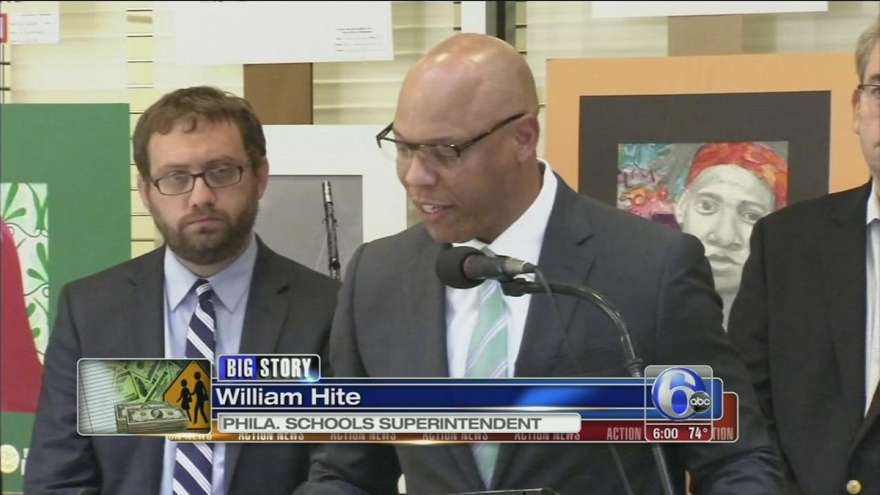VIDEO: Phila. schools to open on time, but cuts announced