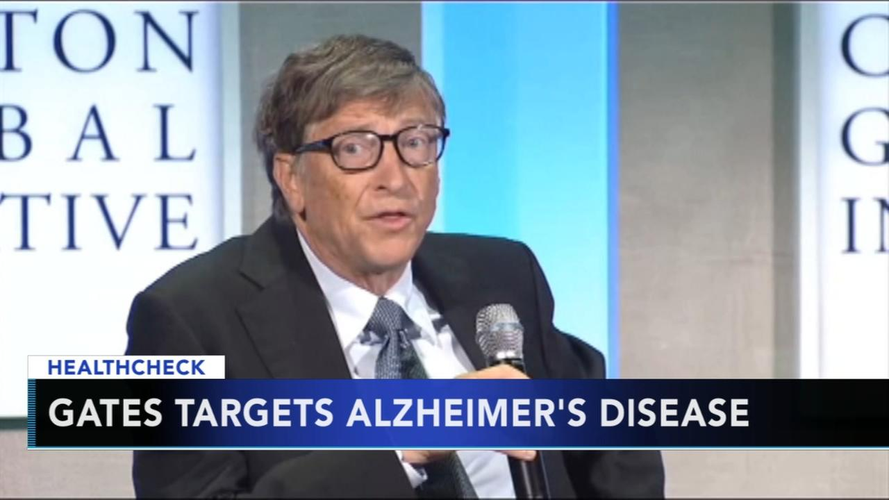 Bill Gates gives $50 million to combat Alzheimers