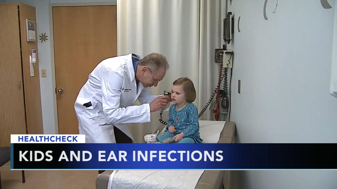 Ear infections in children common this time of year