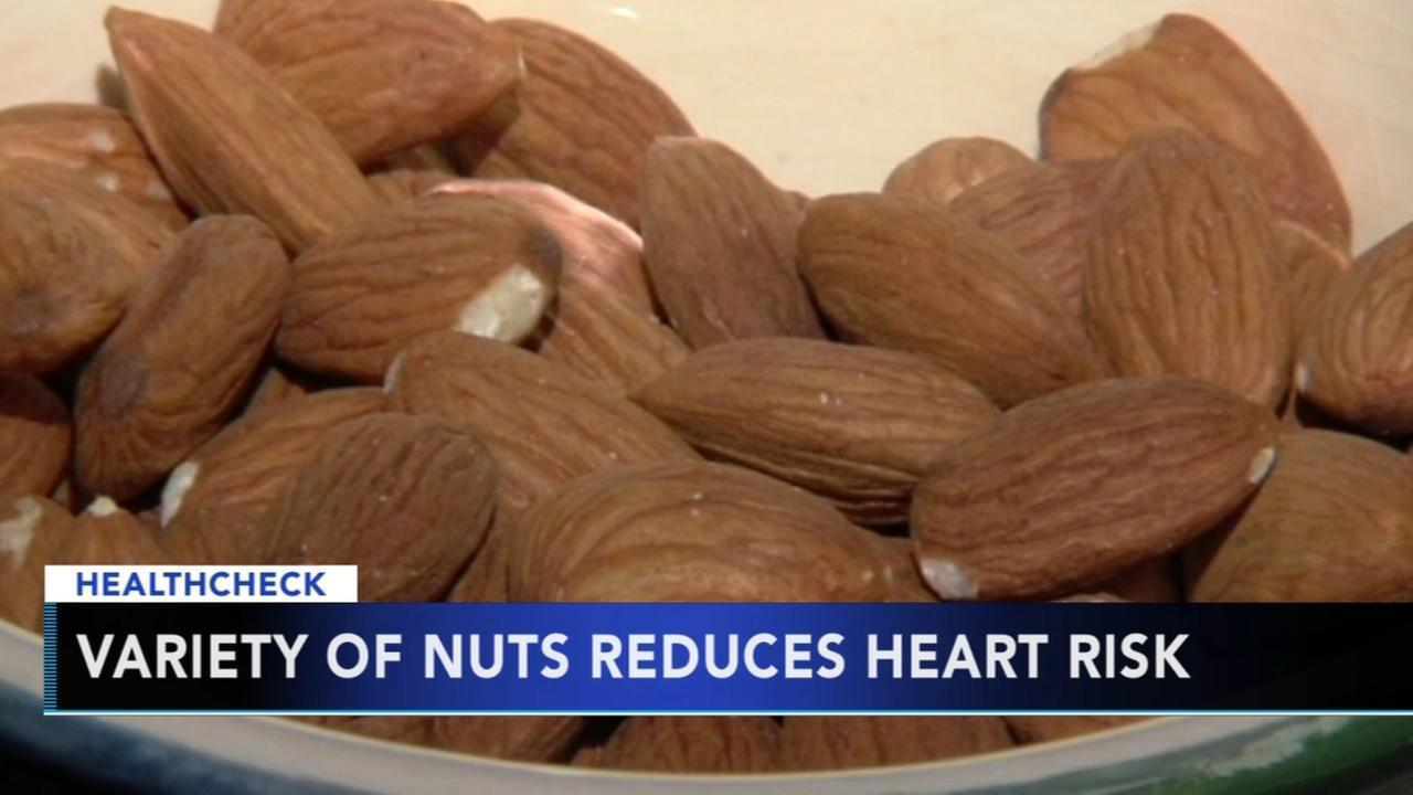 Eating nuts could help lower risk of heart disease