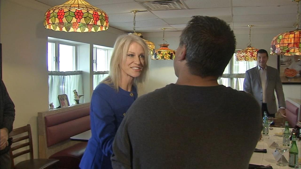 Kellyanne Conway pitches GOP tax plan in New Jersey