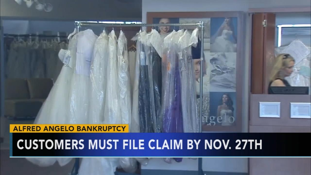 Alfred Angelo claims deadline approaching