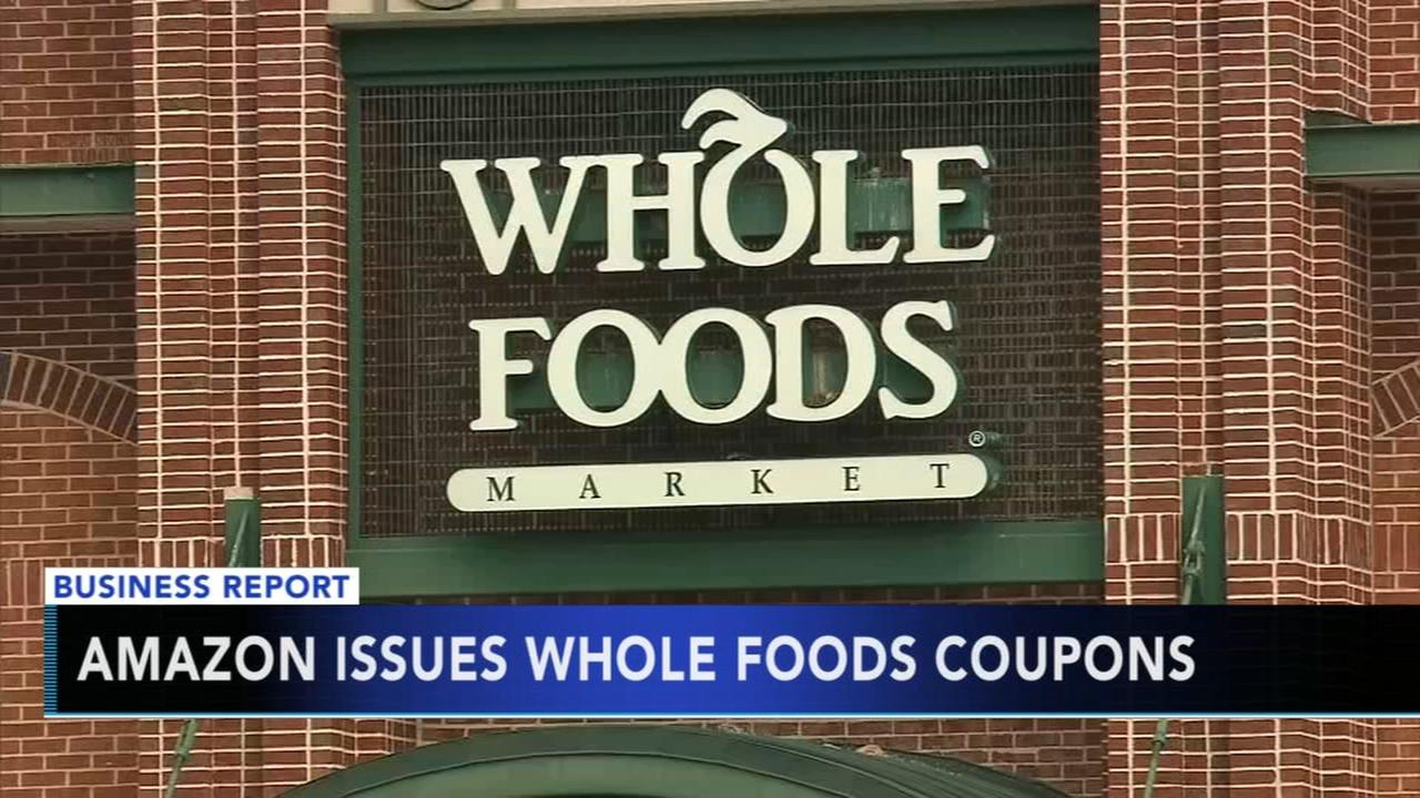 Amazon issues Whole Food coupons