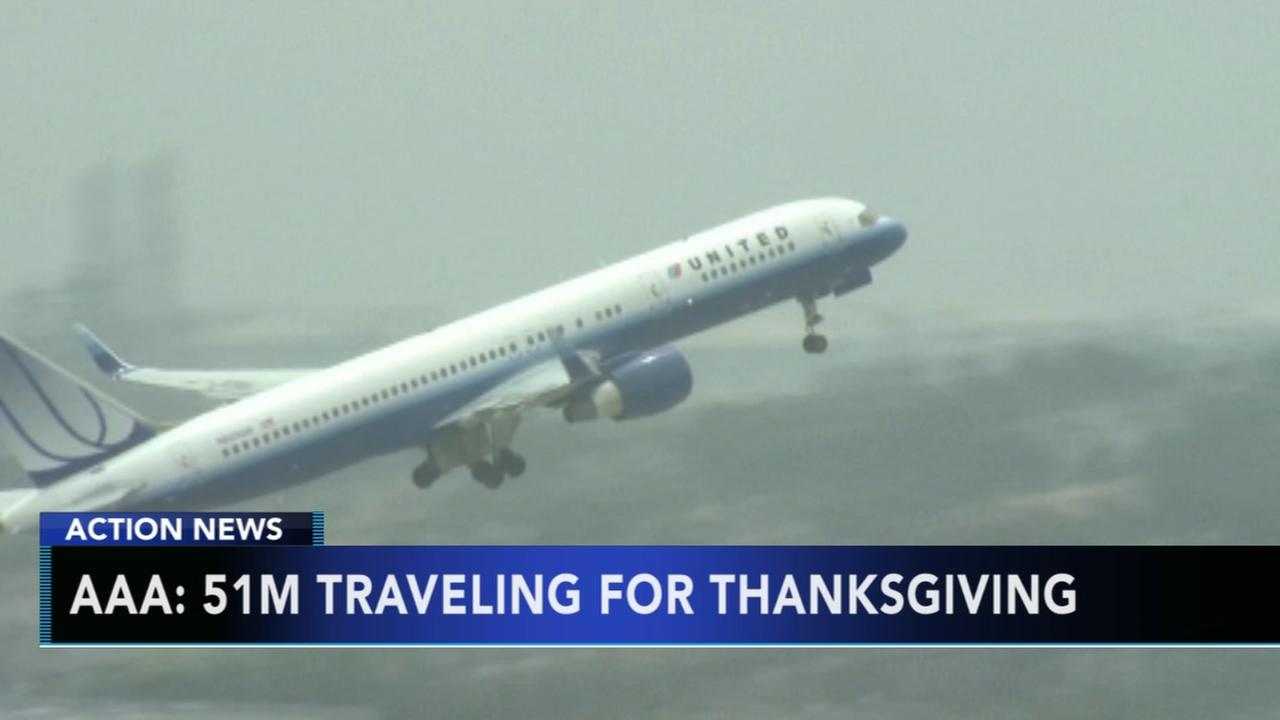 AAA: 51M traveling for Thanksgiving