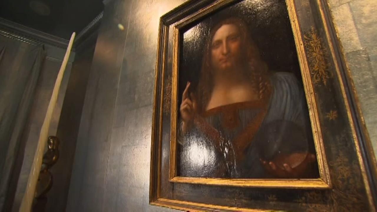 Leonardo da Vincis Christ painting sells for record $450M