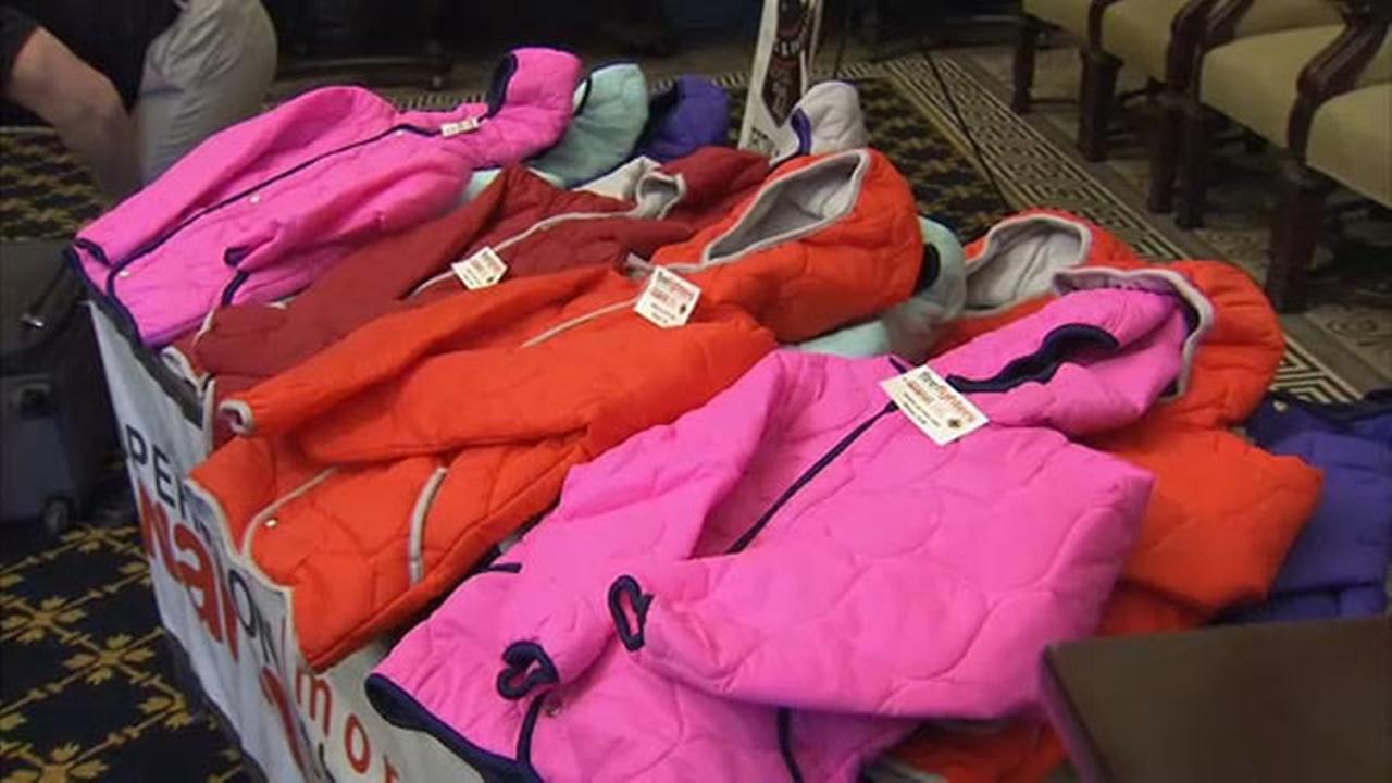"""Operation Warm"" winter coat drive launches in Philadelphia"