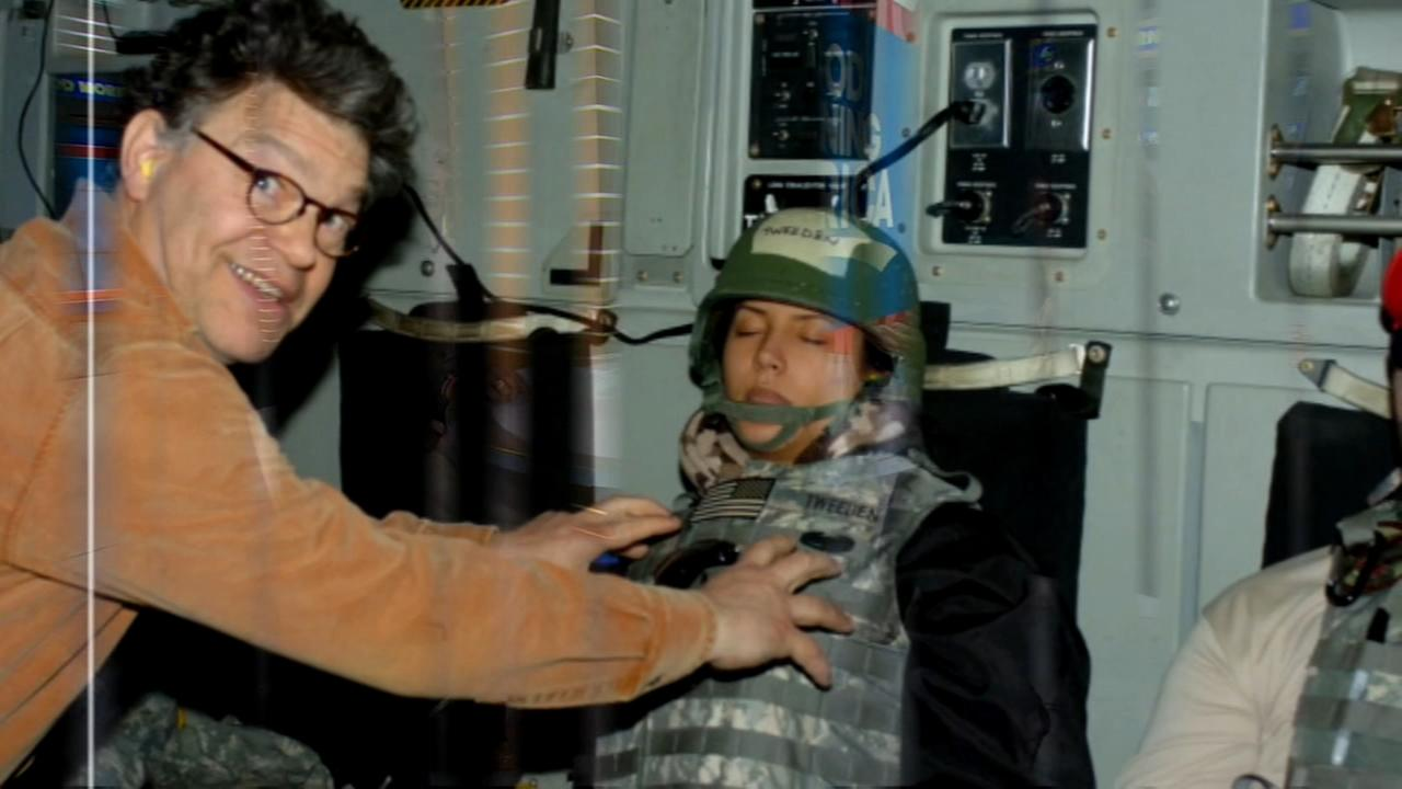 Franken apologizes after woman says he kissed, groped her