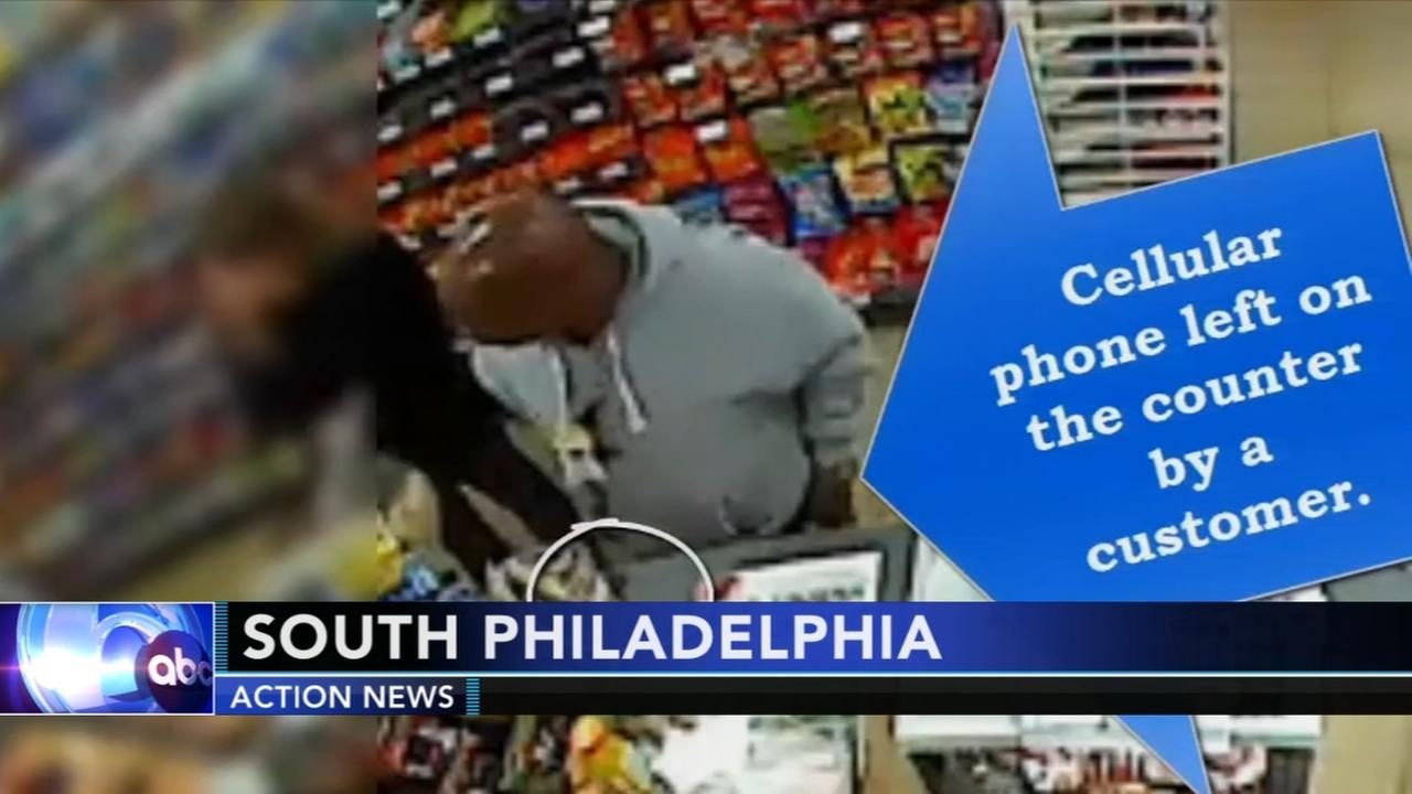 7-Eleven thief caught on camera