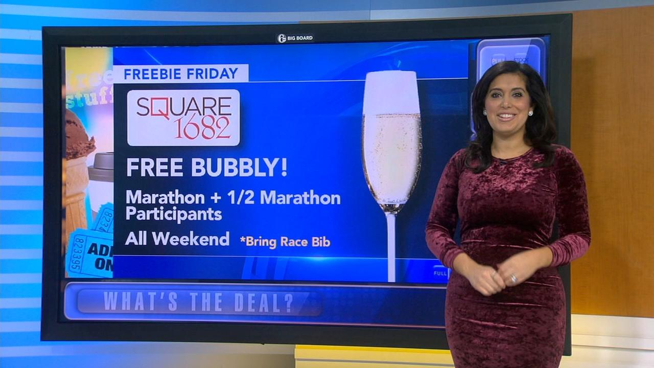 Freebie Friday: Pizza, bubbly, magazines and workouts