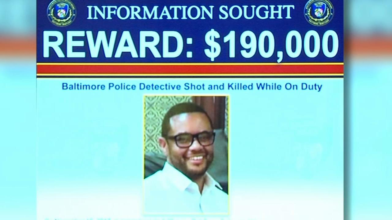 Baltimore Police search for gunman who shot and killed police detective