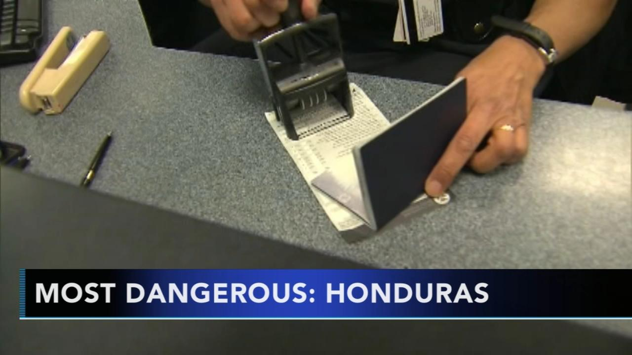 New rankings show the worlds most dangerous travel destinations