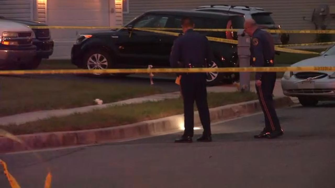 Driver shot and wounded crashes into Delaware home