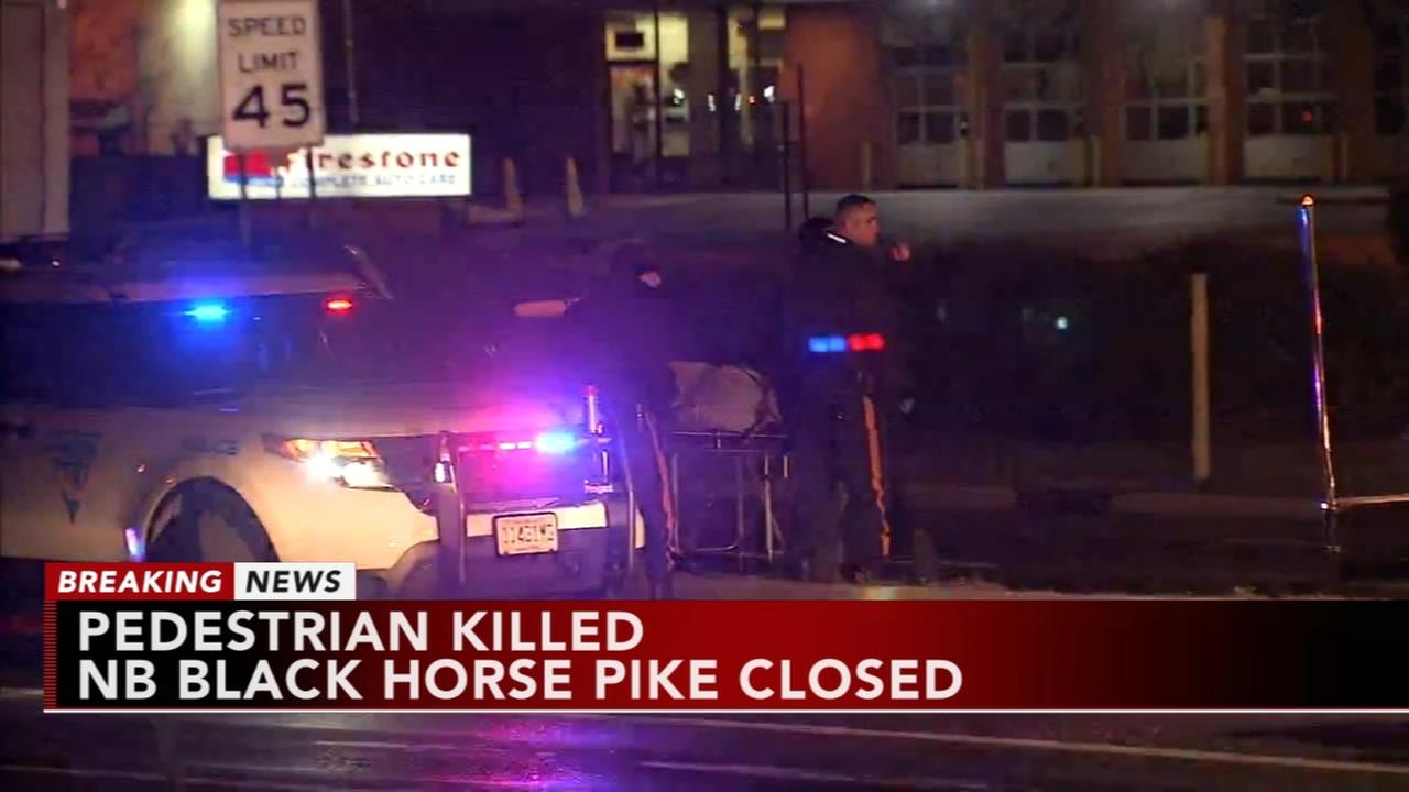 Woman struck and killed on Black Horse Pike