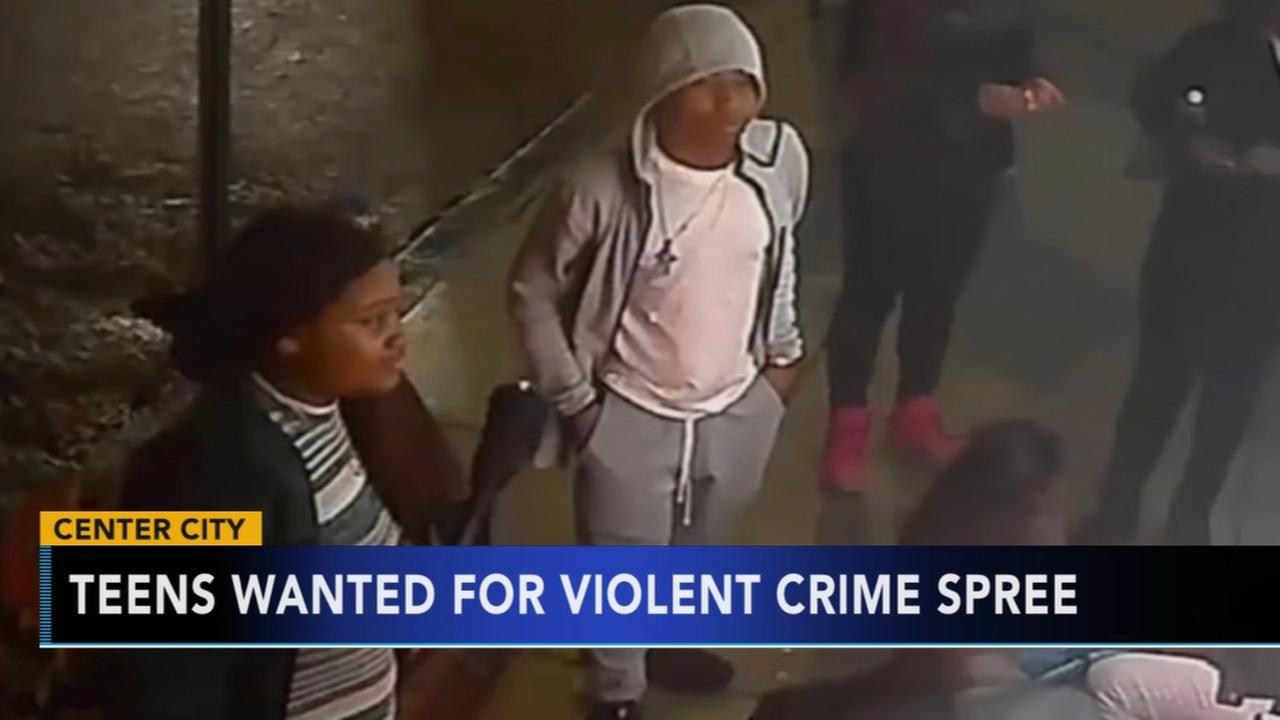 VIDEO: New video released of suspects in flash mob assaults