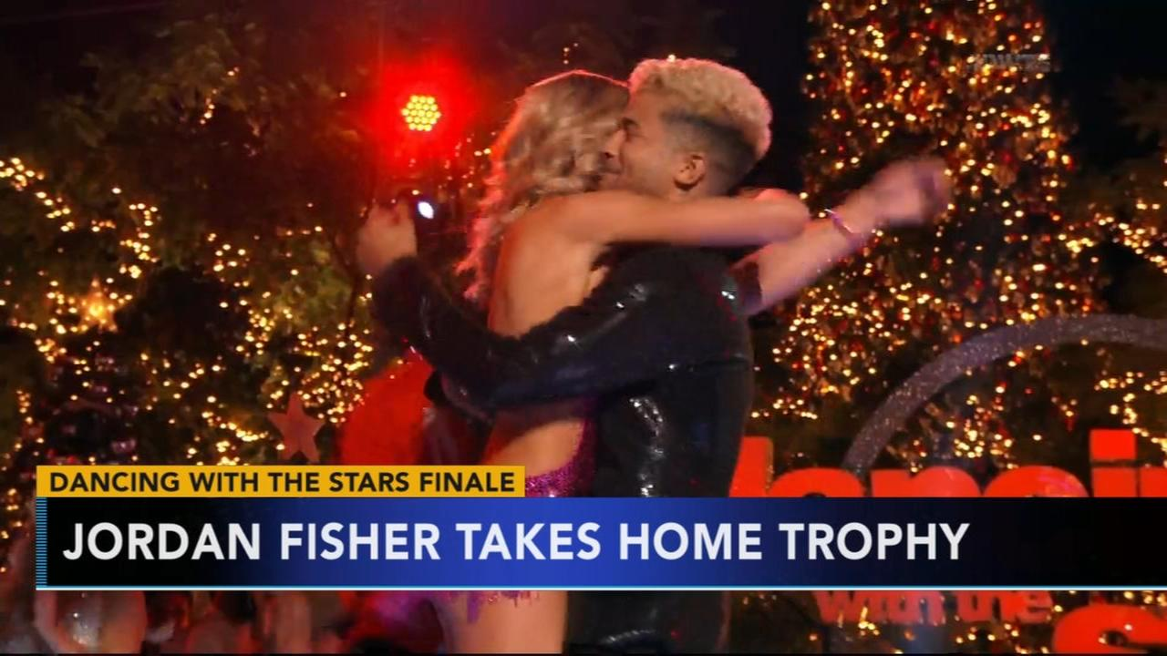 Jordan Fisher takes home DWTS mirrorball trophy
