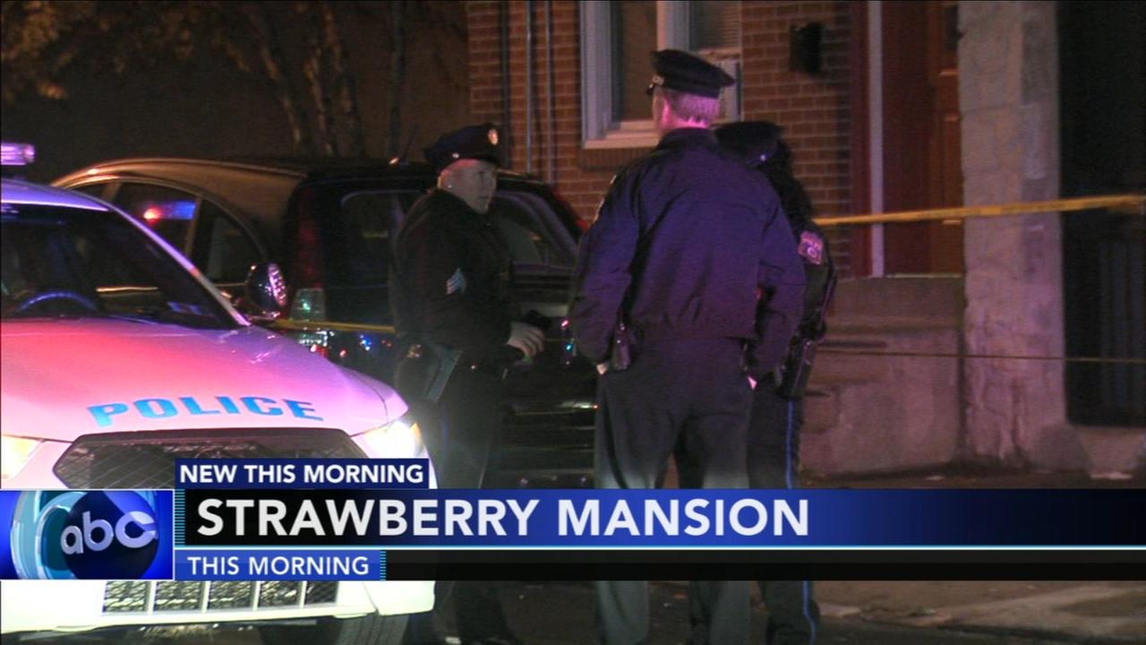Man hospitalized after Strawberry Mansion shooting