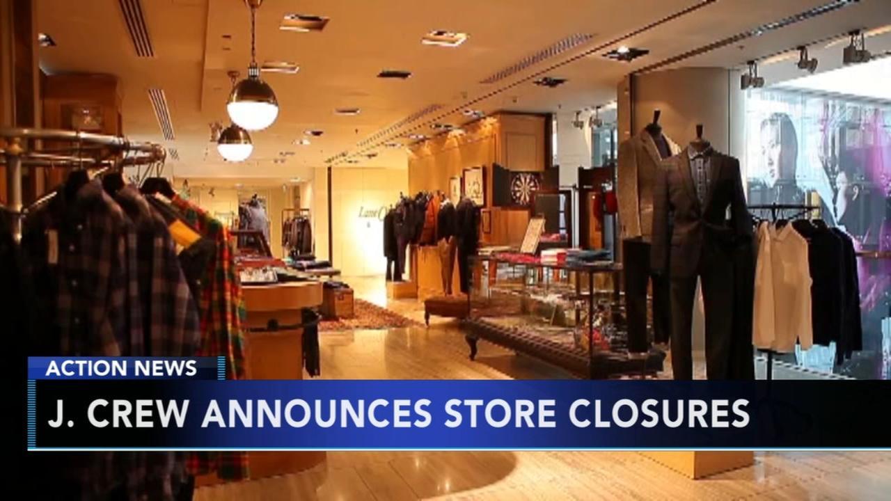 J. Crew announces store closures