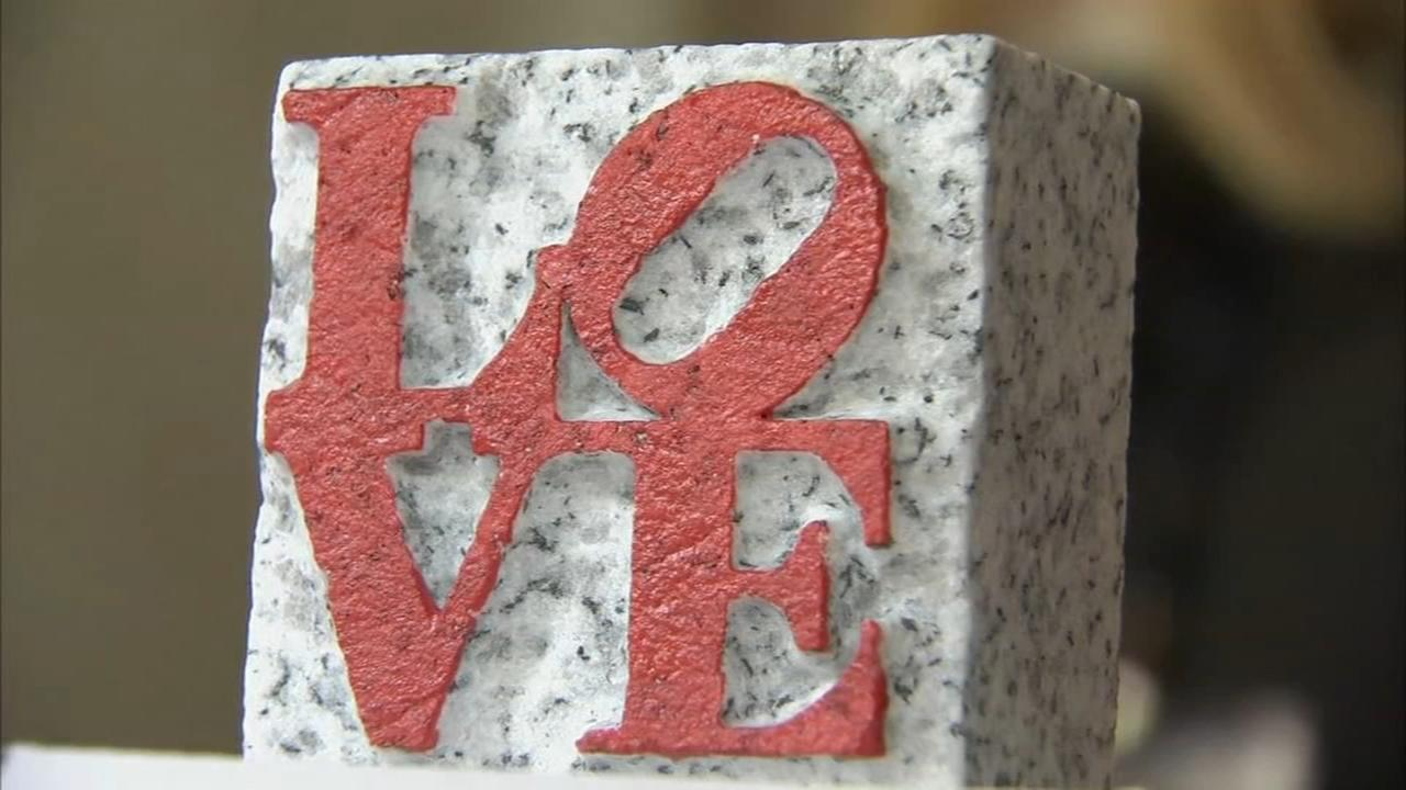 Philadelphia halts sale of Love Park keepsakes