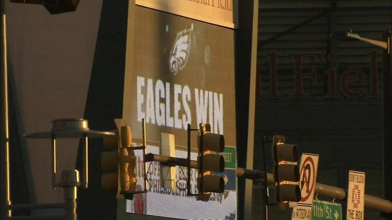Eagles fans react to win against Bears