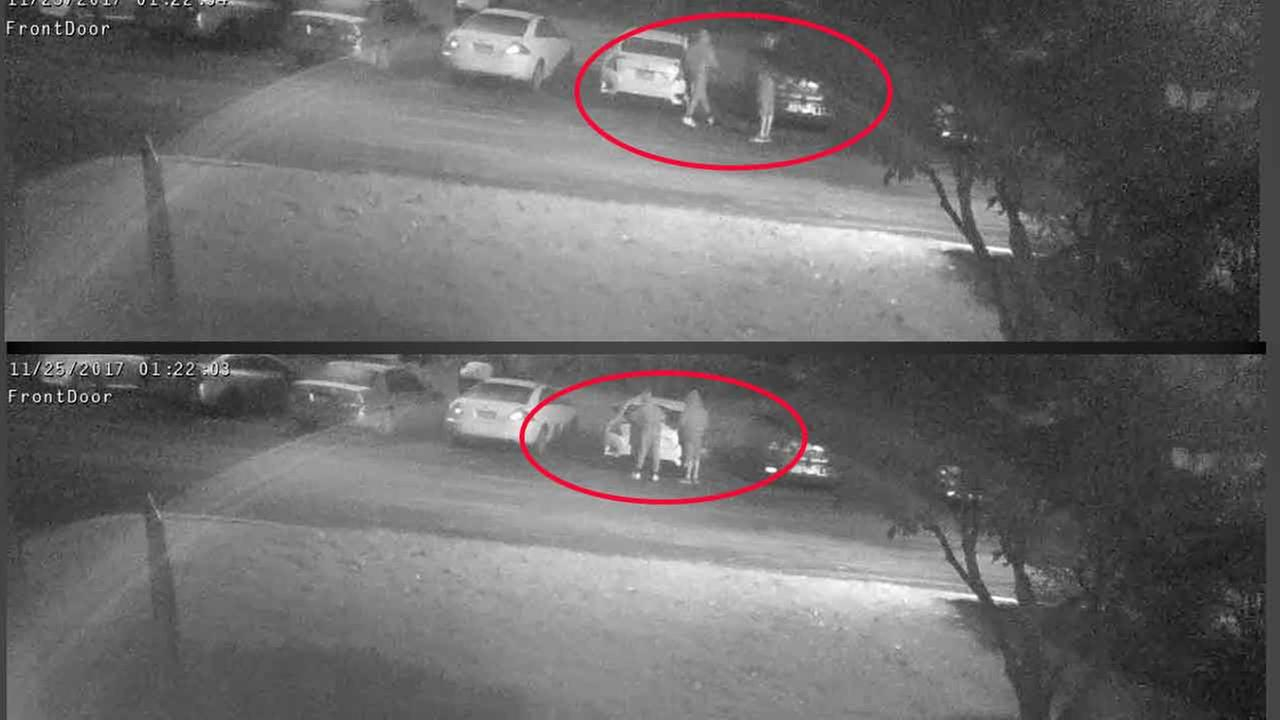 Car vandals caught on camera in Chester County